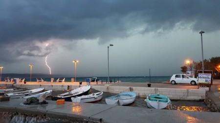 Gewitter in Seline….Heimfahrt